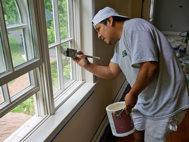 interior professional painting in newington ct