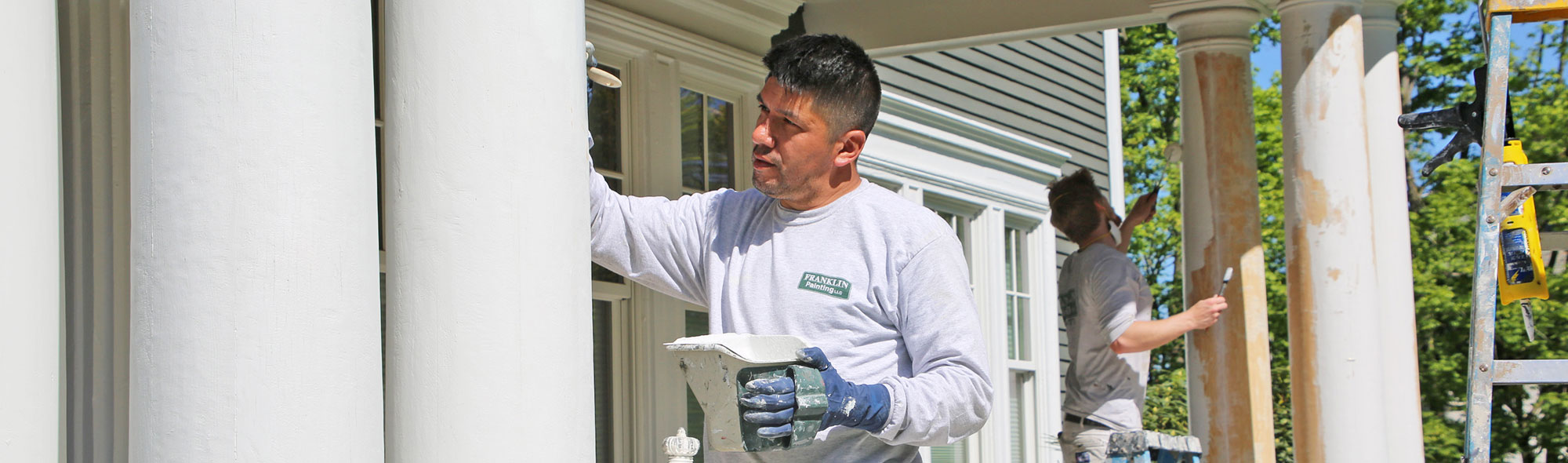 exterior painting in Haddam CT